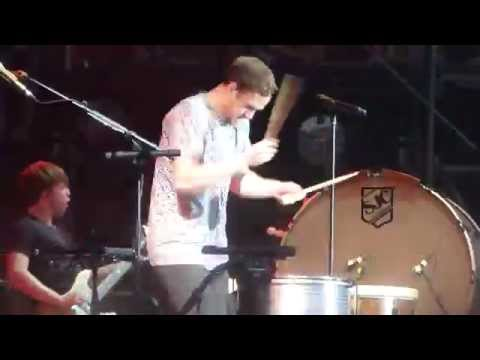 """Battle Cry"" Imagine Dragons@Firefly Festival Dover, DE 6/21/14"