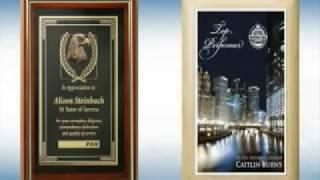 Wall Plaque Awards