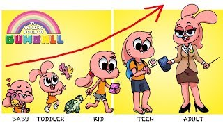 ✅The Amazing World Of Gumball Grown Up Evolution   Zilo TV