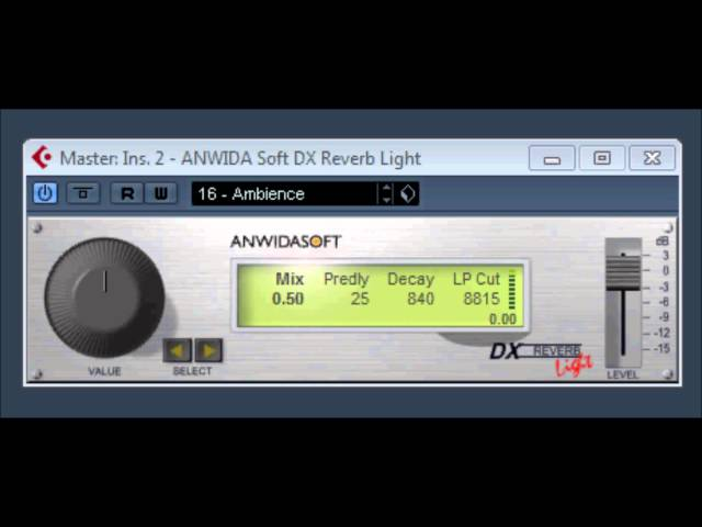 ANWIDA Soft DX Reverb light by ANWIDASOFT