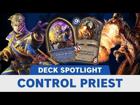 Control Priest | Tempo Storm Deck Spotlight | Hearthstone | [Rastakhan's Rumble]