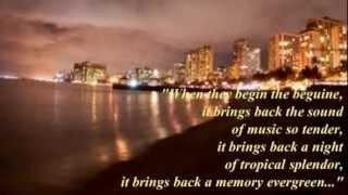 "Andy Williams ~ ""Begin The Beguine (Lyrics)"""