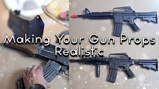 Tomorrows Filmmakers - Making Your Gun Props Realistic