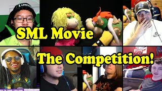 SML Movie: The Competition! REACTIONS MASHUP