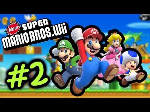 識玩一定係推女朋友去死 #2 World 2.1 新超級瑪利歐兄弟 Super Mario Bro Wii Gameplay Walkthrough