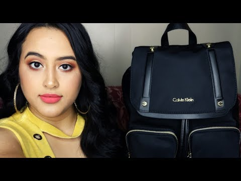 NEW! CALVIN KLEIN TEODORA CARGO BACKPACK REVIEW! BEAUTIFUL BACKPACK FOR WOMEN! Verenice Nunez