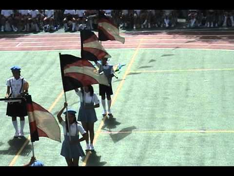 「宇宙戦艦ヤマト」京橋築地小学校カラーガード隊