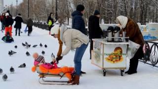 Shock! Winter In Ukraine Like! Very Cold, Brrr~
