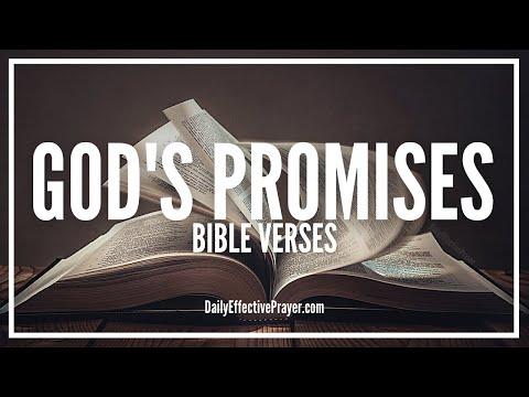 Bible Verses On God's Promises   Scriptures For God's Promises (Audio Bible)