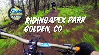 MTB Riding Apex Park Colorado