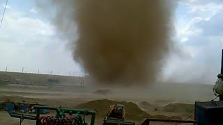 Смерч. Торнадо в Казахстане - 2016. ЭКСКЛЮЗИВНЫЕ видео #2