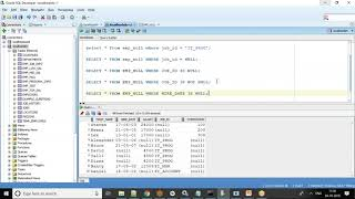 Oracle SQL Tutorial -  Handling Null values