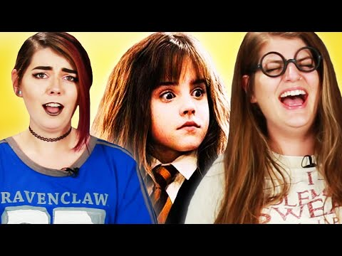 Harry Potter Fans Read Crazy Harry Potter Fanfiction