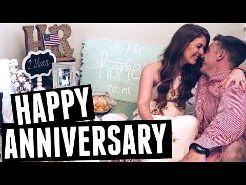 Romantic One Year Anniversary Surprise