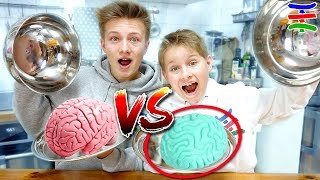 RADIERGUMMI vs. REAL FOOD EKELChallenge 🤢 mit ENERGY, KAFFEE, GEHIRN ...🤮 TipTapTube 😁 Family