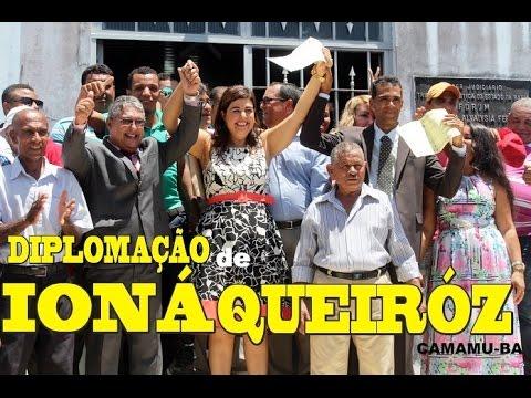 Ioná Queiróz foi diplomada em Camamu ( ITACARETV.COM )