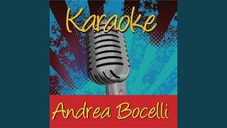 Come Un Fiume Tu (In The Style Of Andrea Bocelli)