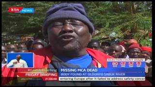 Four people have been arrested over murder of MCA Churo Amaya in Oldonyo Sabuk River-Baringo