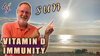 Vitamin D Sunlight: Morning or Evening? | Boost Immune System | Vitamin D3 and K2 Benefits