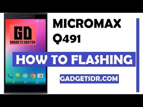 Micromax Q340 Dead Recovery File