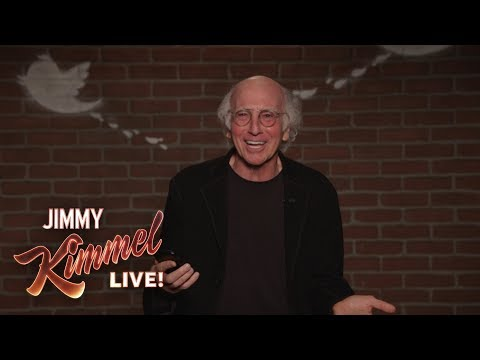 If you're ever having a rough Monday, just watch Larry David's Mean Tweet Outtakes