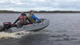 """Лодка пвх Reef 360НДНД """"Крыло чайки"""" от компании Интернет-магазин «Vlodke» - видео"""