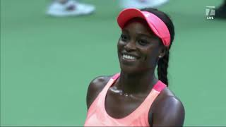 Tennis Channel Live: US Open 2017 Rwd: Stephens 1st WTA American After Williams Sisters to Win Slam
