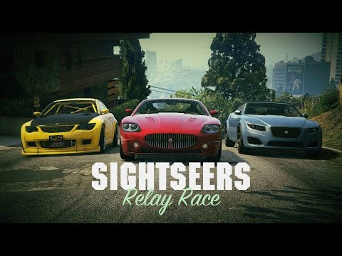 GTA V Online: Sightseers - Relay Race (Auto Guest: Tom Matthews' First Car Collection)