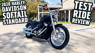 2020 Softail Standard Test Ride Review