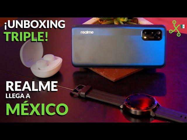 Realme llega México: realme 7 pro, Buds Q y Watch S, UNBOXING, precio y lanzamiento