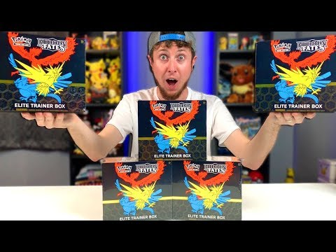 NEW POKEMON HIDDEN FATES ELITE TRAINER BOX OPENING and the CARDS ARE AMAZING!