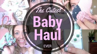 The CUTEST Baby Haul Ever!! - Etsy, Boutiques, Adidas and More