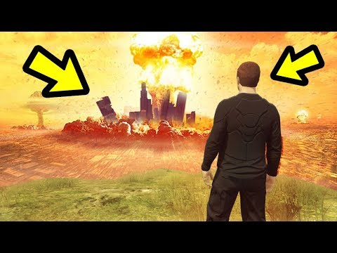 What happens at the end of the Doomsday Heist?
