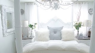 Vintage French Bedroom Tour French Decor Room Makeover Spring Bedroom Decorating Ideas 2020