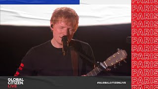 Ed Sheeran Performs 'Shivers' in Front of the Eiffel Tower in Paris   Global Citizen Live