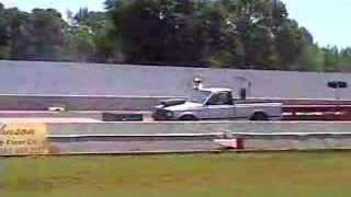 86 Mazda Drag Truck First Pass!! In Memory of Terry Matlock