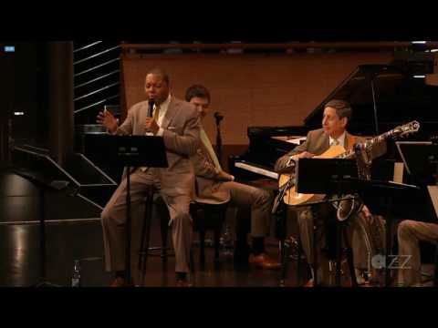 Playing with Wynton Marsalis and the Jazz at Lincoln Center Orchestra!