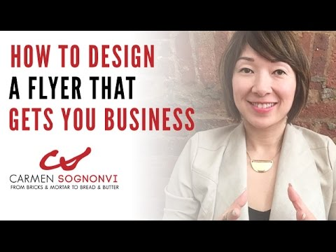 How to Design a Flyer That Gets You Business   Carmen Sognonvi