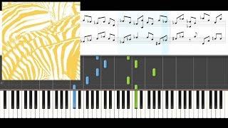 Beach House - Take Care (Piano Tutorial + Sheet Music)