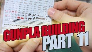 174 - Gunpla Building Part 11: Water-Slide Decals