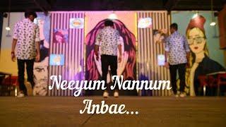 Imaikkaa Nodigal | Neeyum Naanum Anbe Dance  Video | Vijay Sethupathi, Nayanthara | Hiphop Tamizha