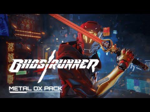 Sortie du DLC Metal OX de GhostRunner