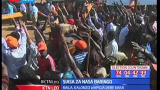 Raila Odinga ashtumu serikali kwa ukosefu wa usalama huko Baringo