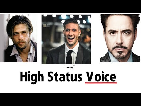The 5 Traits of a High Status Voice