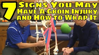 7 Signs You May Have A Groin Injury & How to Wrap It