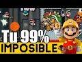 99% IMPOSIBLES de Suscriptores #24 | Mario Maker