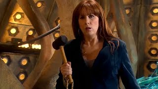 Donna Noble Vs A Sontaran | The Poison Sky | Doctor Who | BBC