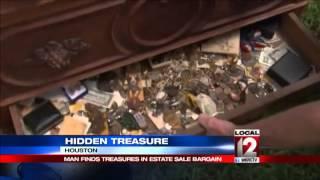 Man finds treasure inside estate sale bargain
