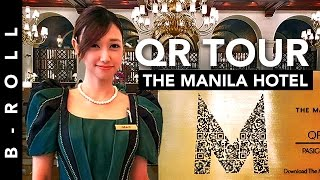 Go Back in Time at The Manila Hotel • B-Roll 57 • QR Code Tour Launch