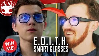 E.D.I.T.H. Smart Glasses in REAL LIFE! (WIN A PAIR!)